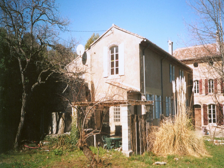 House by the spring