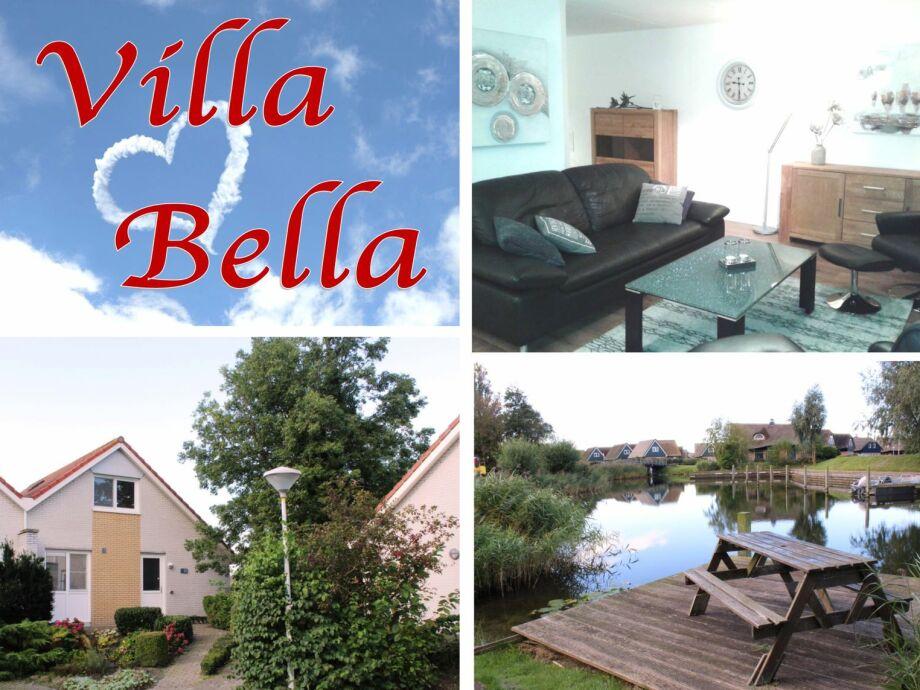 Villa Bella mit eigenem Bootssteg zum Angeln