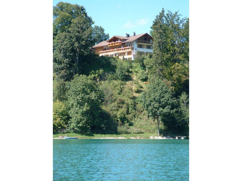 Außenaufnahme Lindenhaus am See Ferienwohnung Bergblick