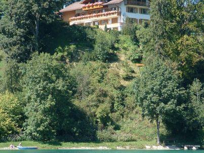 Lindenhaus am See Ferienwohnung Bergblick