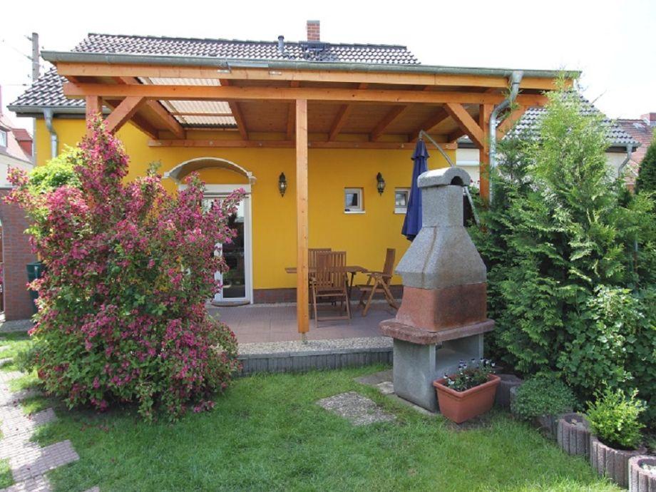 Terrasse Ferienhaus Familie Berger