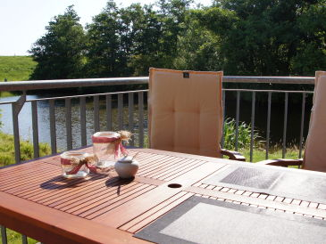 Holiday apartment with sauna and whirlpool