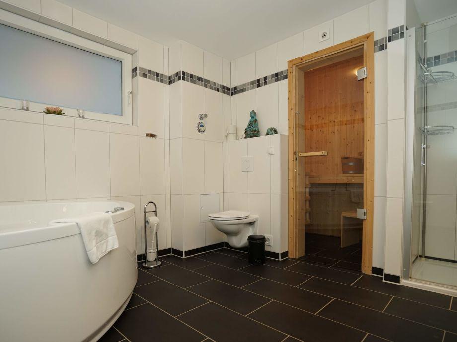 ferienwohnung mit sauna und whirlpool, wangerland - firma marina ... - Badezimmer Mit Sauna Und Whirlpool