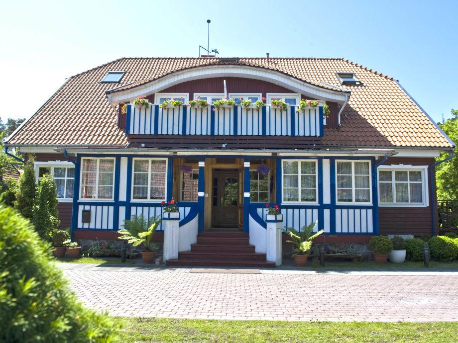 """Villa """"Misko namas"""", Nida, Kurische Nehrung, Litauen"""