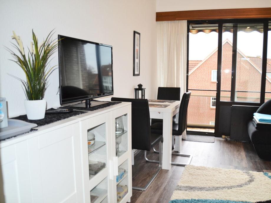 """Ausstattung """"Jan am Strand"""" Apartment 313"""