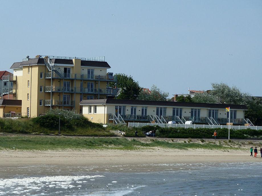 """Außenaufnahme 13  """"Albatros"""" in der Strand Residenz Amrum"""