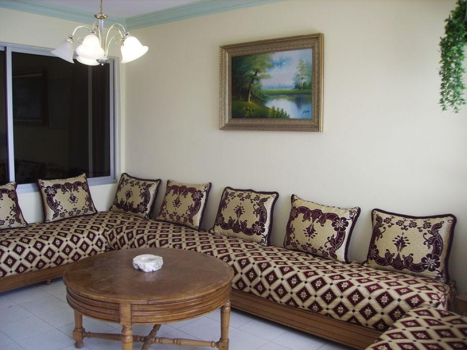 ferienwohnung strandwohnung, agadir, taghazout, süd-marokko - herr, Wohnzimmer