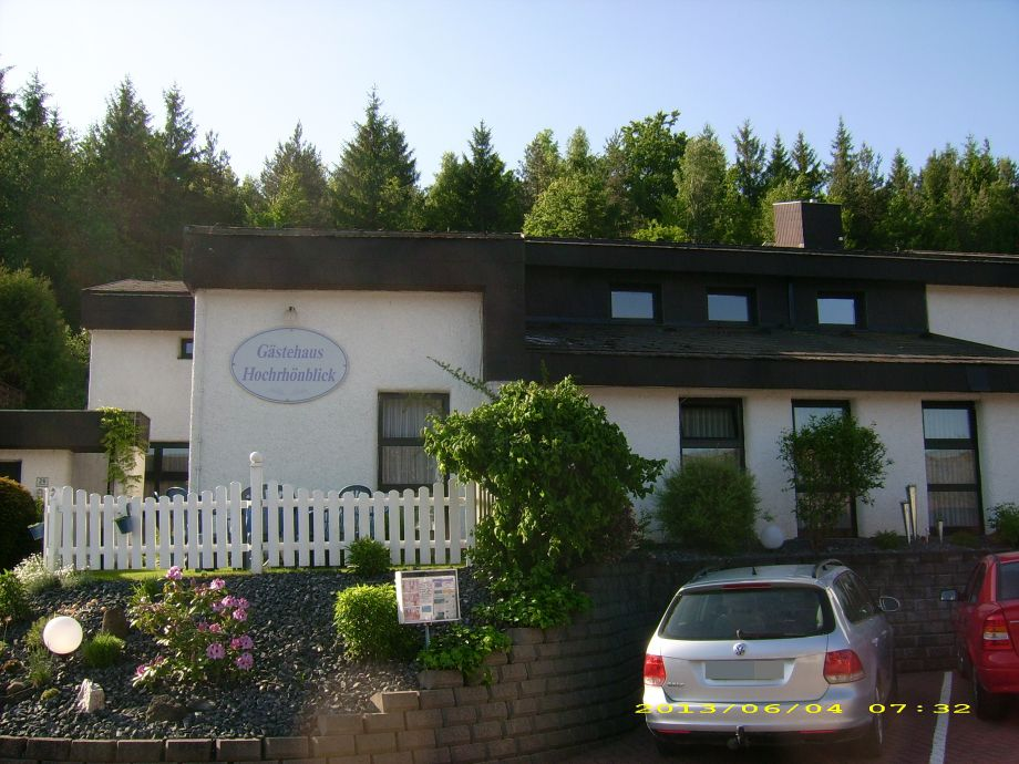Gästehaus mit Parkplatz