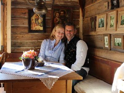 Ihr Gastgeber Sonja & Max Kinateder