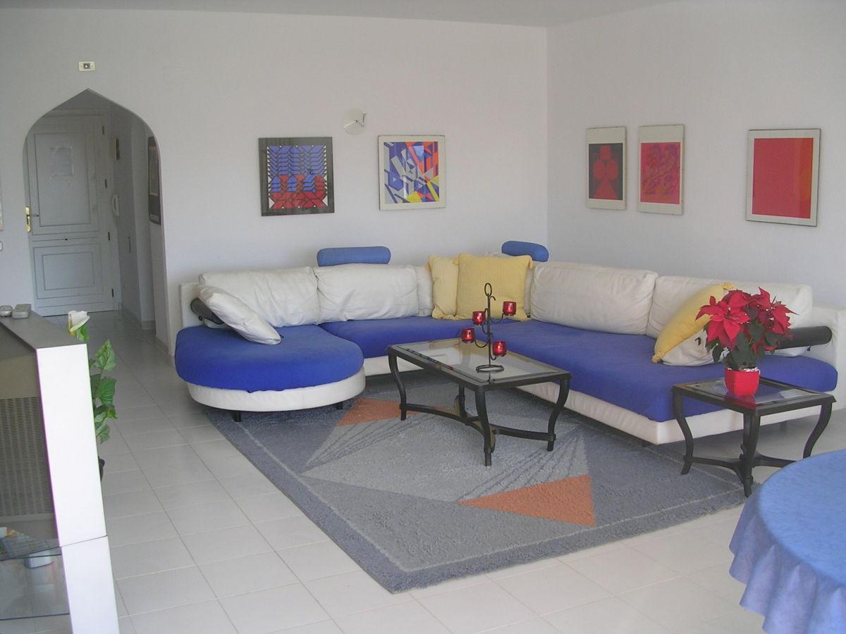 Ferienwohnung penthouse al khalif costa blanca frau renate fritz - Sitzgruppe wohnzimmer ...