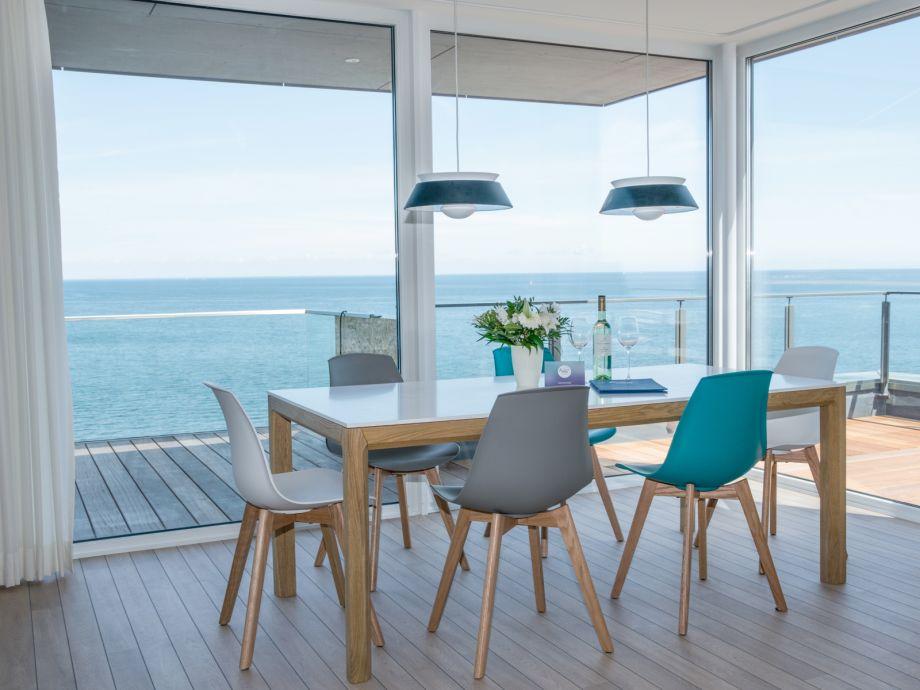 Ferienwohnung Penthouse - Essbereich