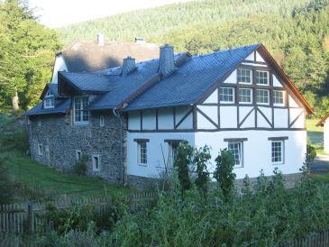 Ferienhaus Romantische Mühle (Remise) Haustiere willkommen