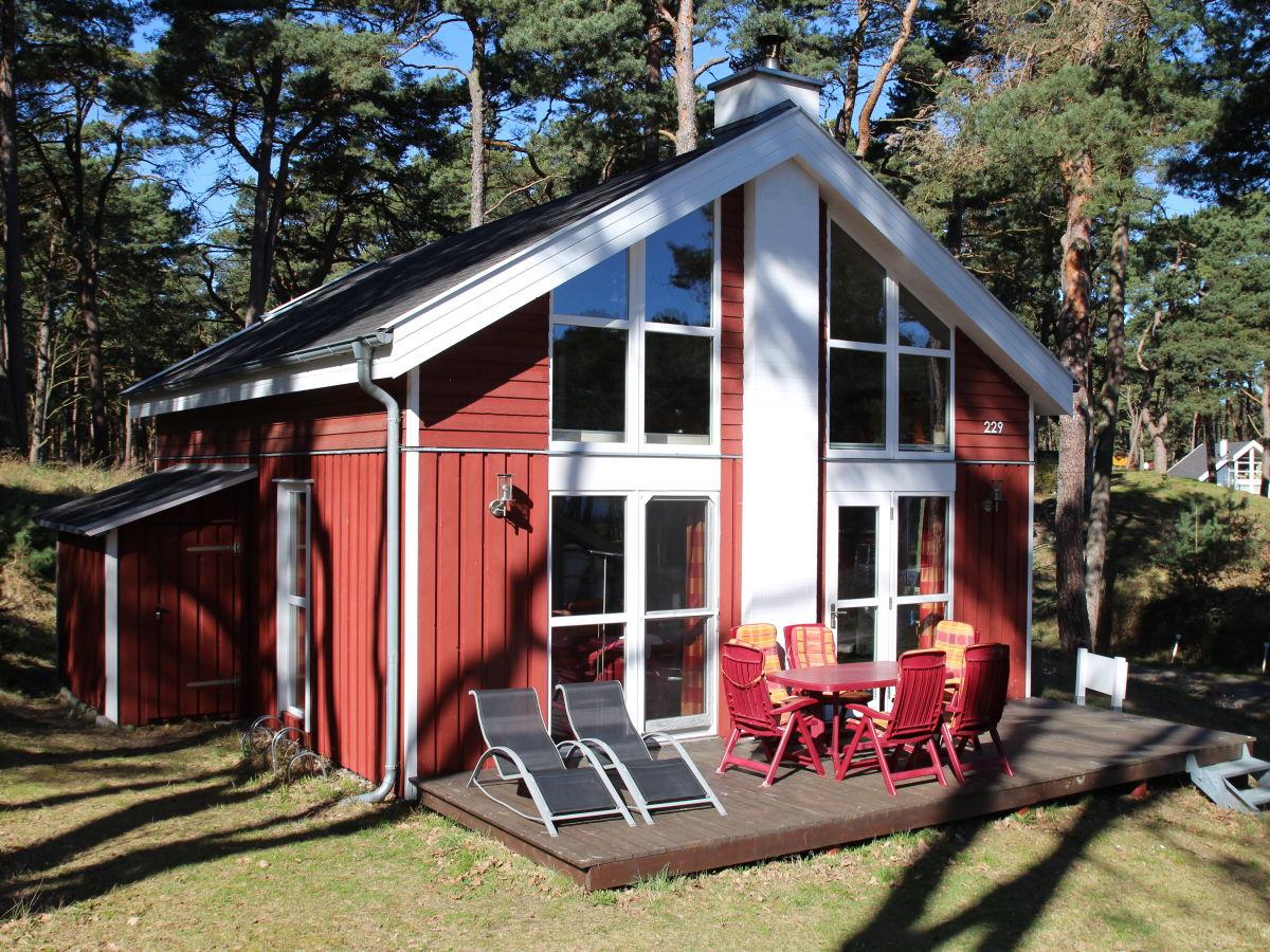 Ferienhaus Strandhus Baabe Haus 229, Rügen - Familie Volker und ...