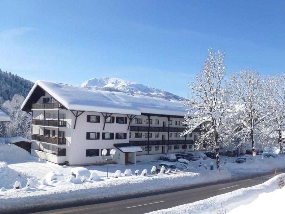 Appartmenthaus St. Sebastian im Winter