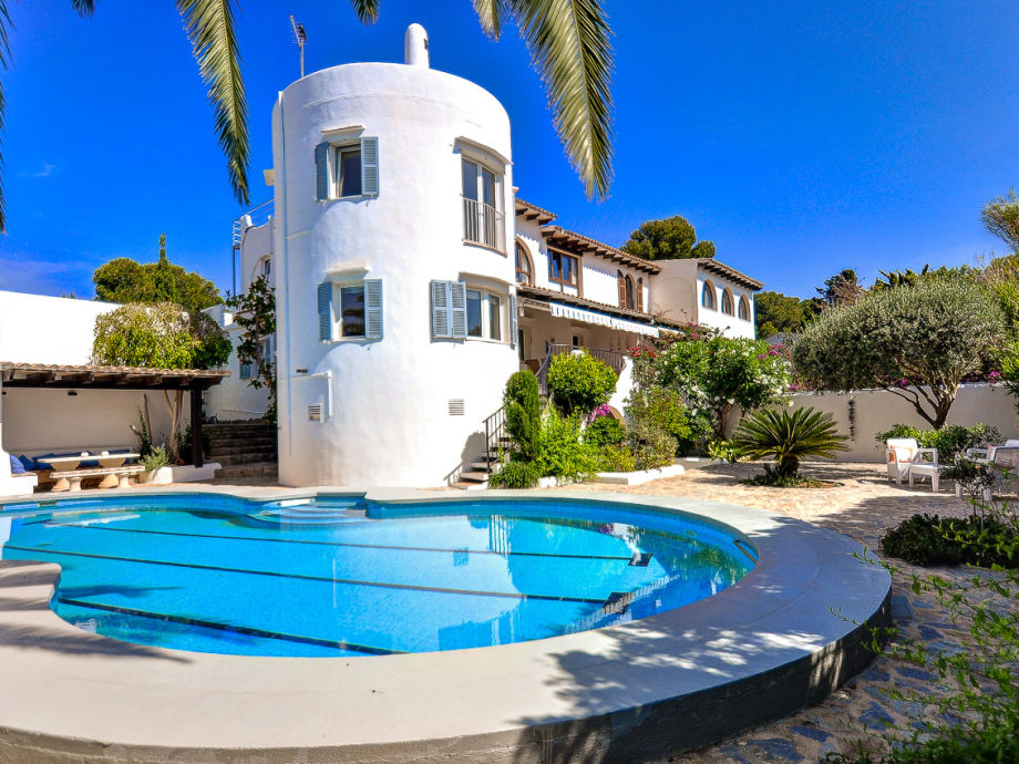 Ferienhaus ibiza stil mit pool 2679 mallorca osten - Formentera ferienhaus mit pool ...