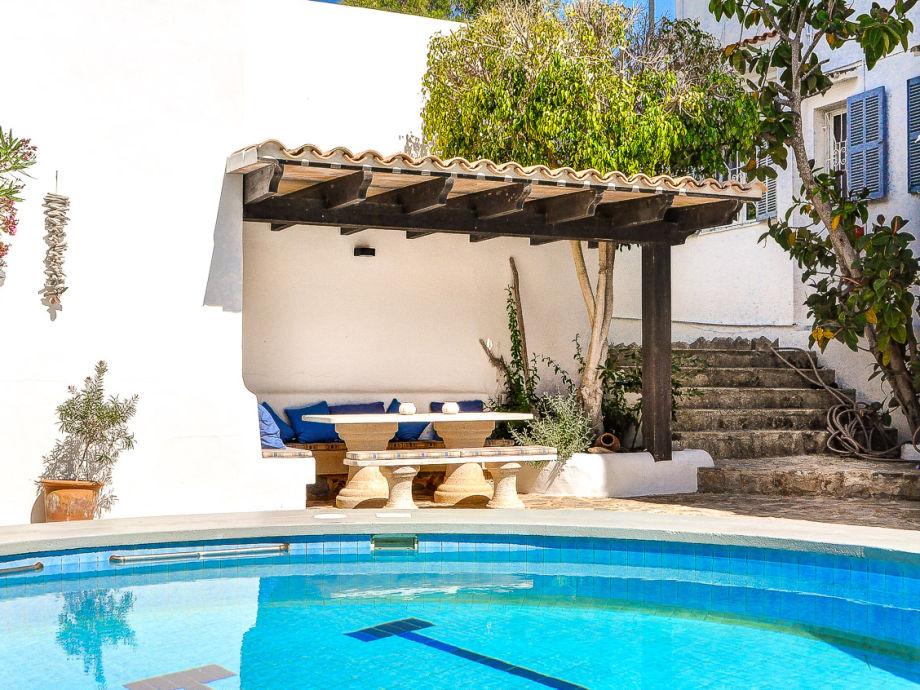 ferienhaus ibiza stil mit pool 2679 mallorca osten. Black Bedroom Furniture Sets. Home Design Ideas