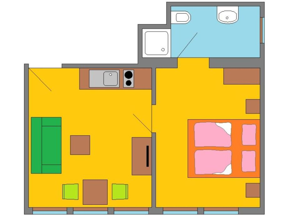 ferienwohnung zander im haus fischer fritz fischland darrs zingst firma haus fischer fritz. Black Bedroom Furniture Sets. Home Design Ideas