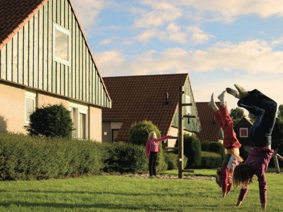 Außenaufnahme Haamstede im Ferienpark Klein Poelland in Renesse