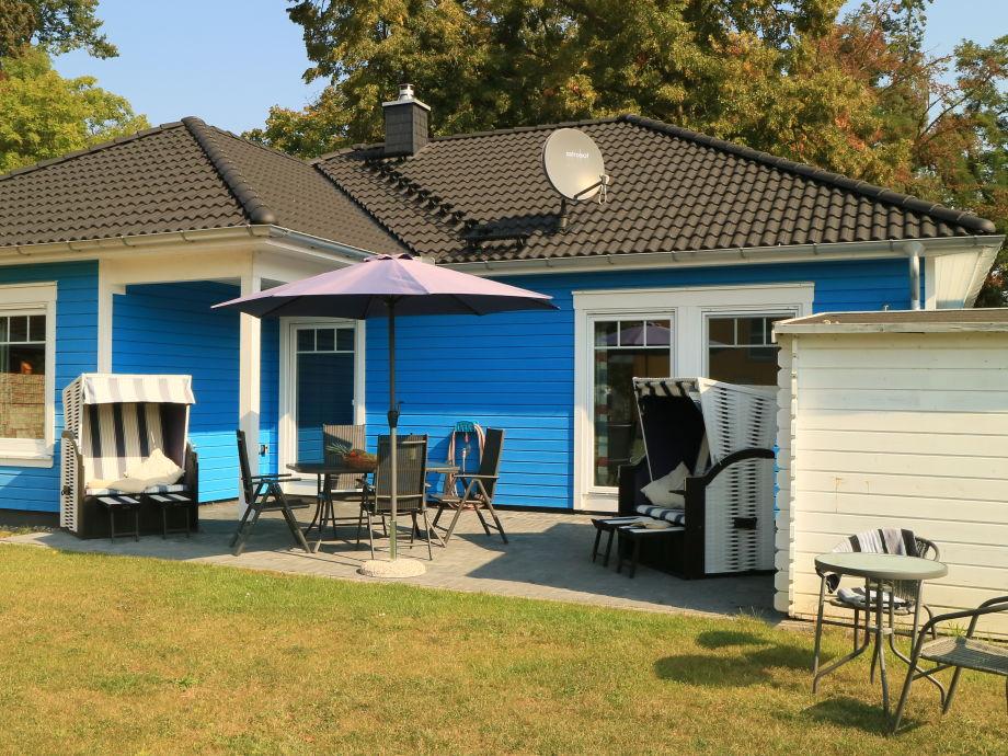 Ferienhaus Spiekeroog - gemütliche Terrasse