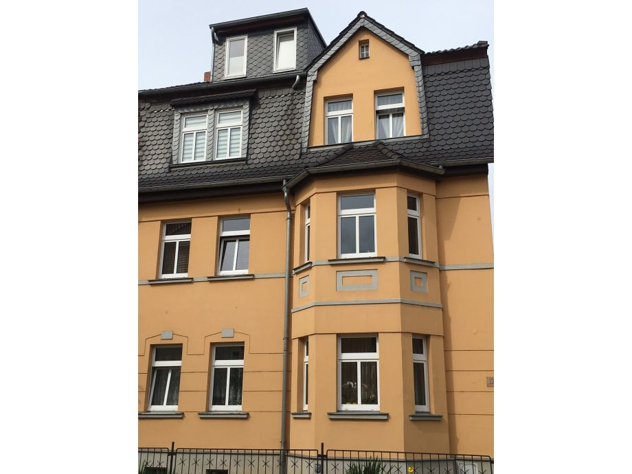 Vorderansicht der Stadtbleibe Naumburg