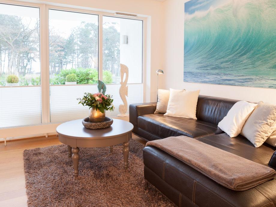 Wohnbereich mit Ostseeblick