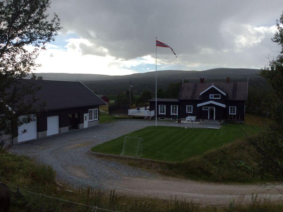 Farm house from east