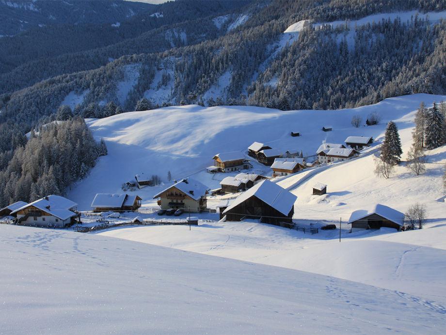 Gscnara im Winter