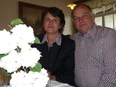 Ihr Gastgeber Maria und Gottfried Rumpf