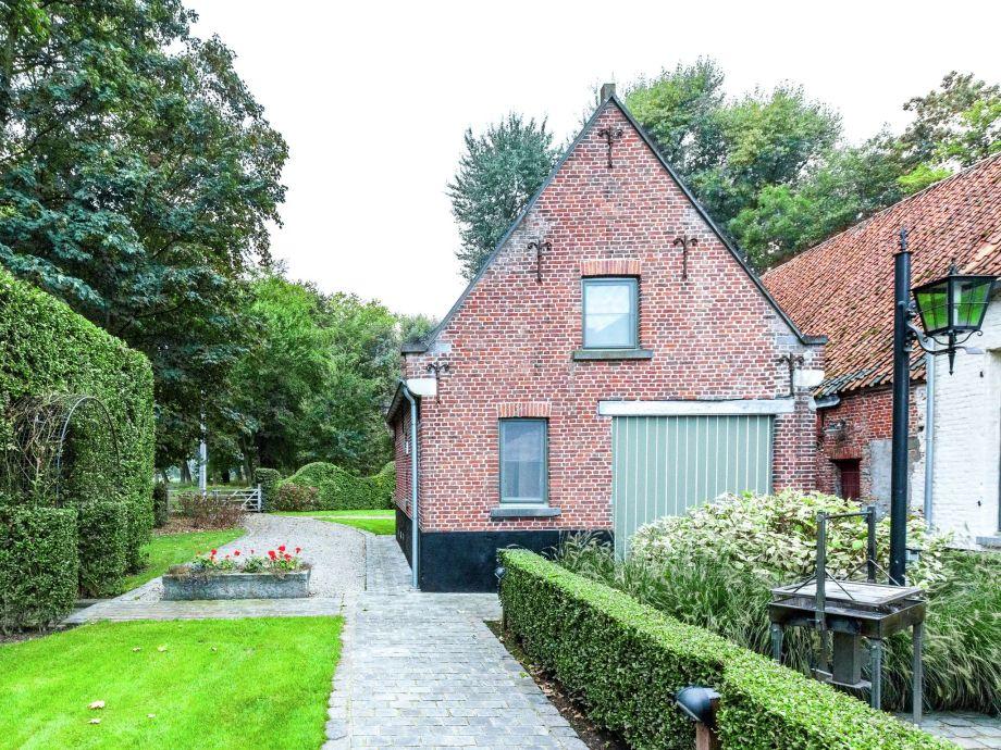 Außenaufnahme ´t Huisje dichtbij Brugge
