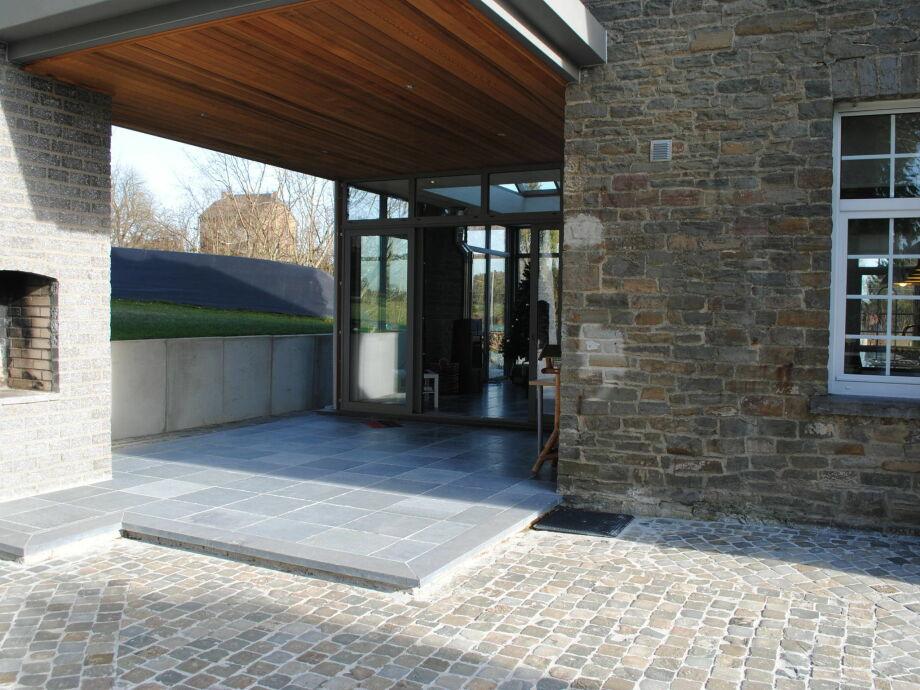 Außenaufnahme Villa Courtil