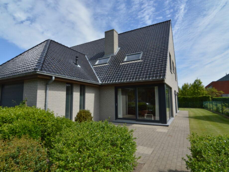 Außenaufnahme Villa Oostende