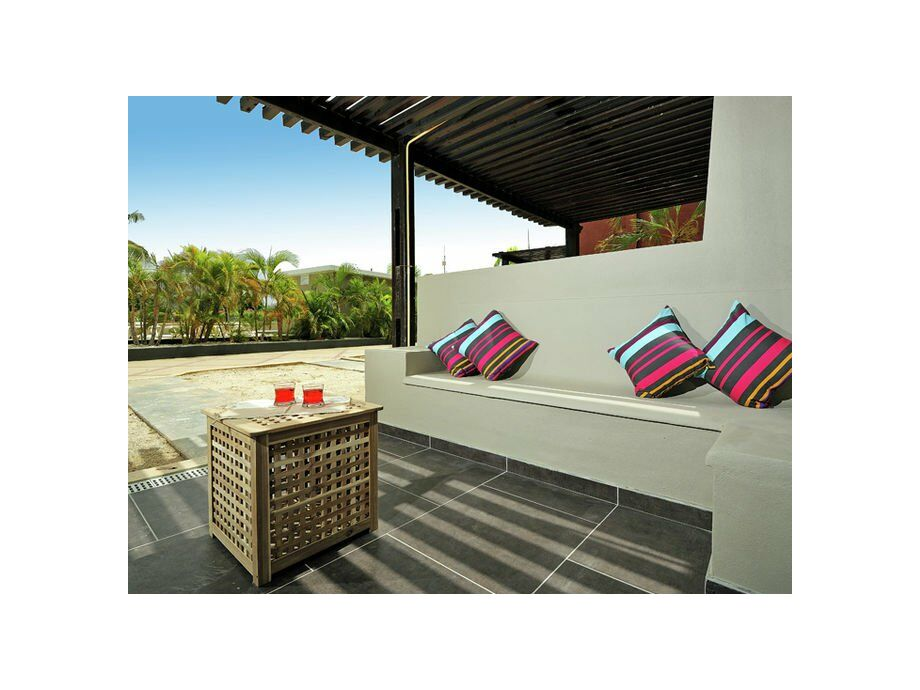 Außenaufnahme Eden Beach - Two Bedroom Apartment Terrace