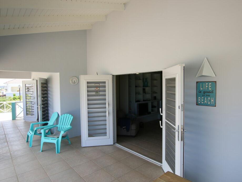 Außenaufnahme Villa Grand Case