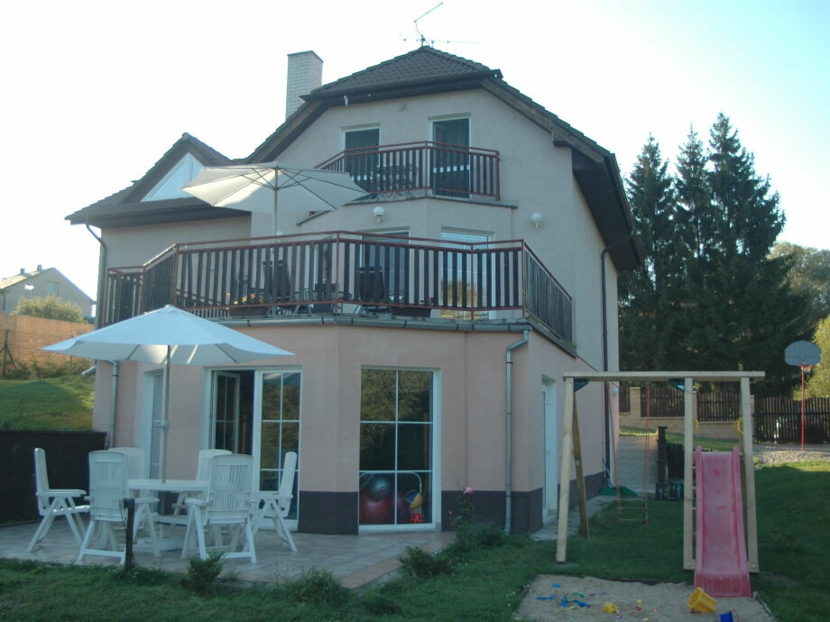 Außenaufnahme Relax Villa Vranov 55