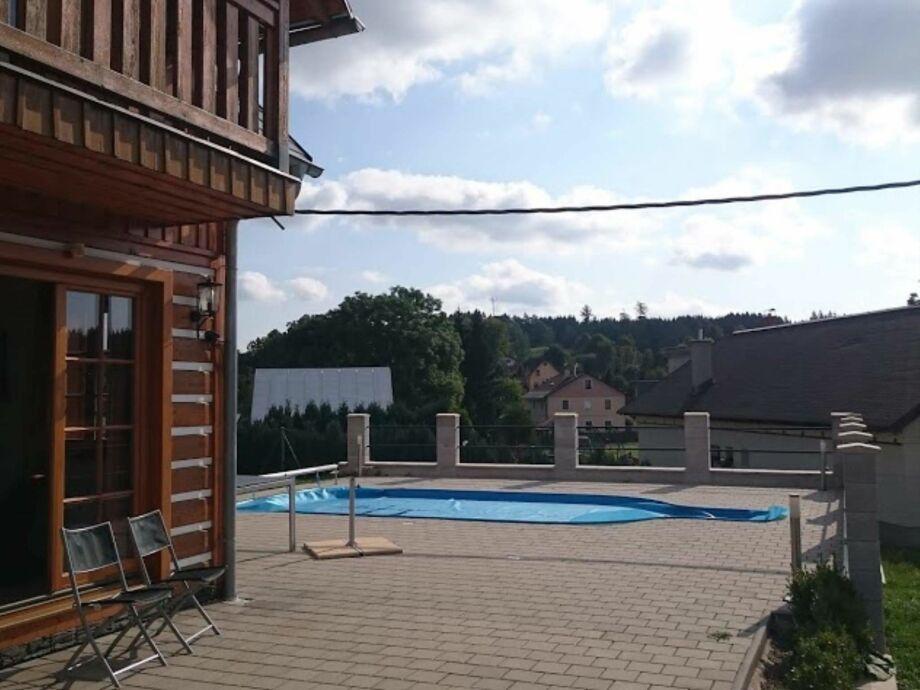 Außenaufnahme Villa Lucany