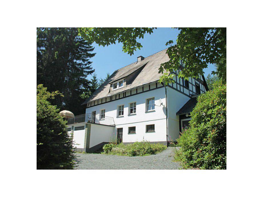 Außenaufnahme Landhaus Wald & Charme