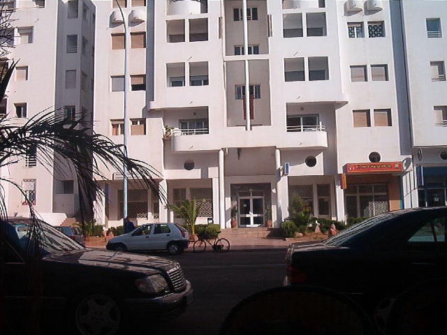 Außenaufnahme Studio in Agadir