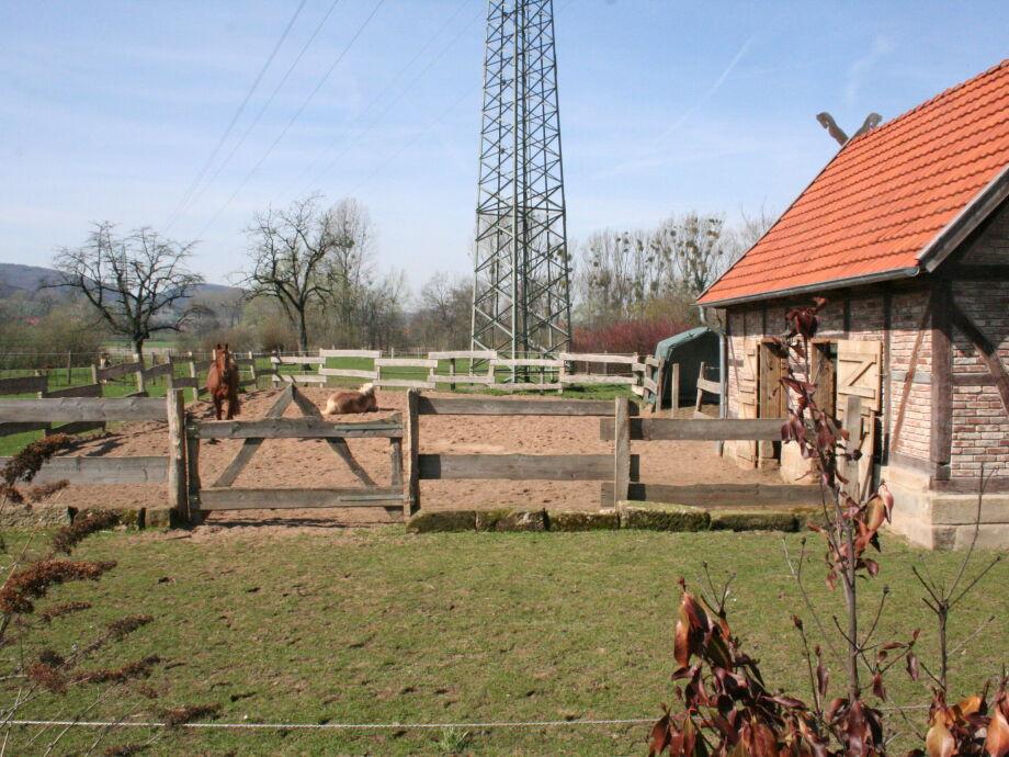 Außenaufnahme Linden Cottage Weserbergland