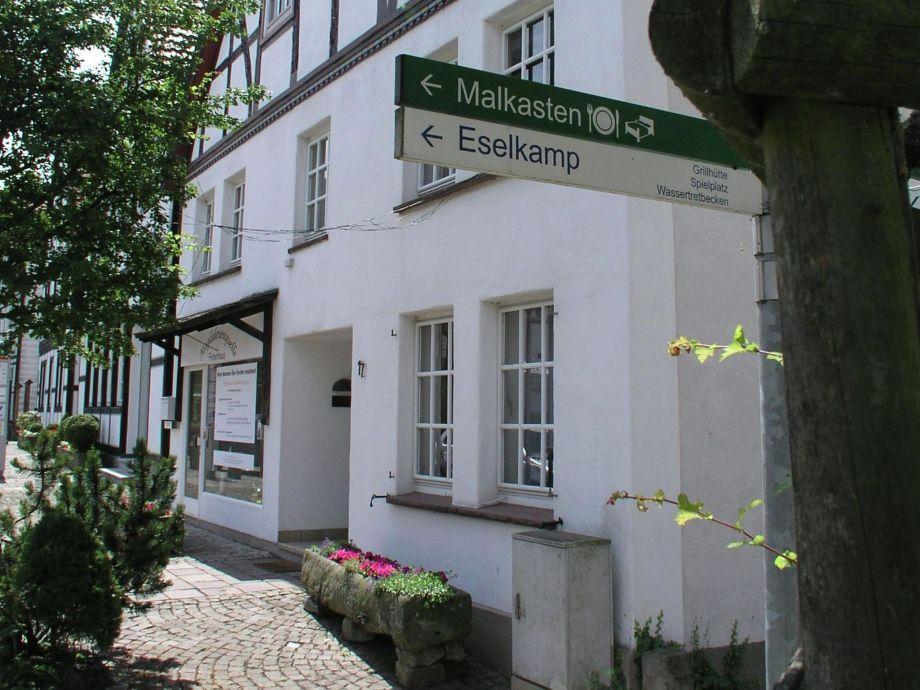 Außenaufnahme Ferienhaus Teutoburger Wald
