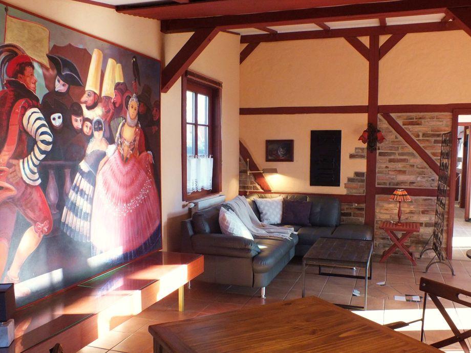 Wohnbereich Atelier-Kate