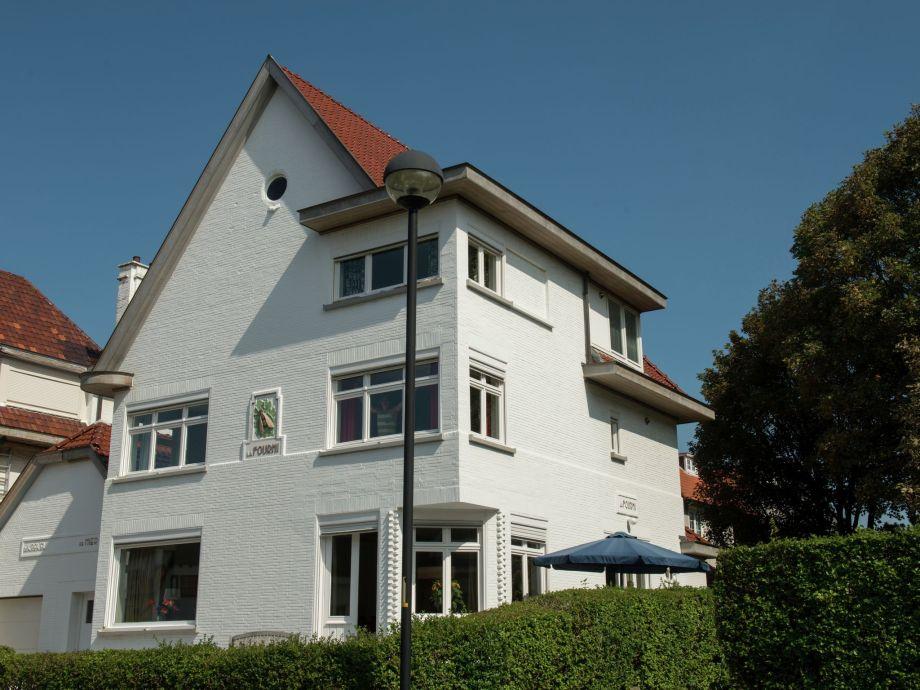 Außenaufnahme Villa Schelp en Strand
