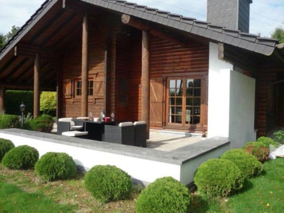 Außenaufnahme Lodge des Fagnes