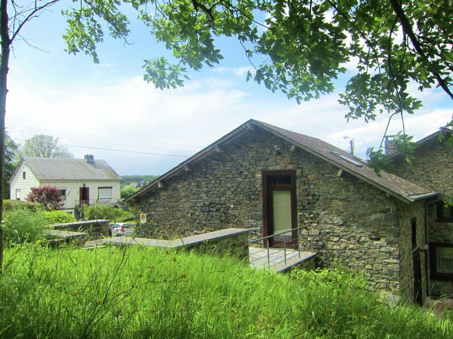 Außenaufnahme Au Grenier du Moulin