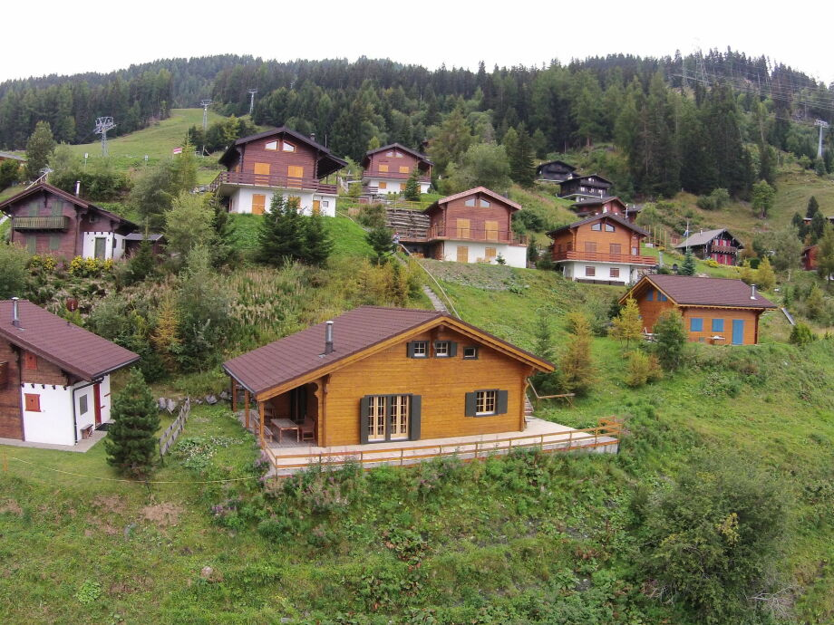 Außenaufnahme Quatre Vallées