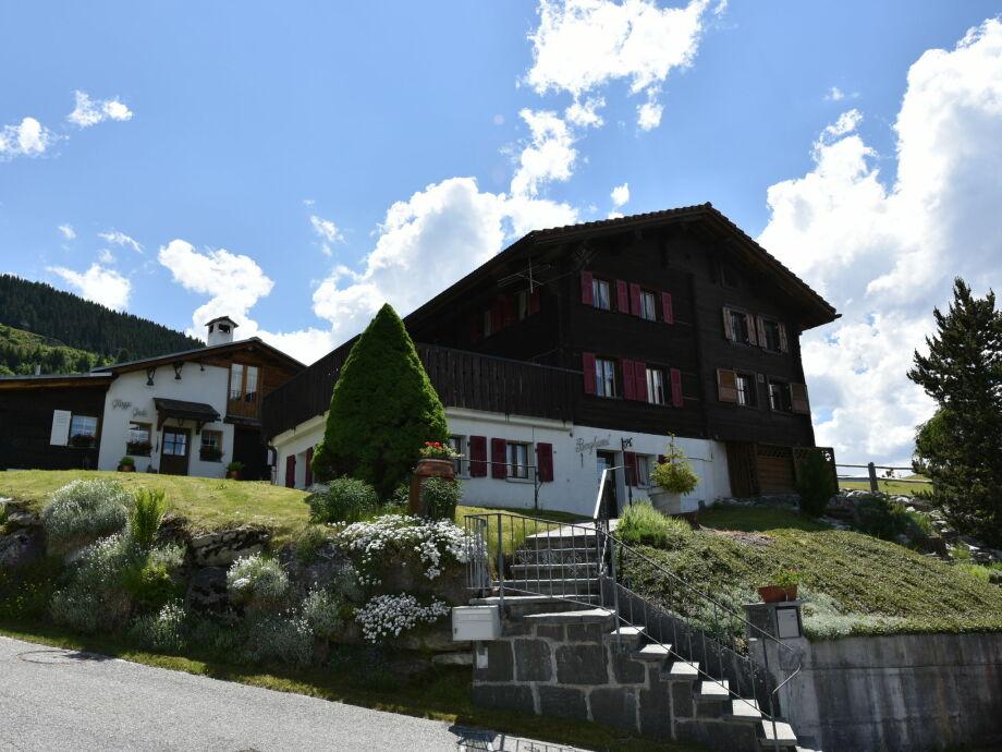 Außenaufnahme Haus Bergheimat begane grond