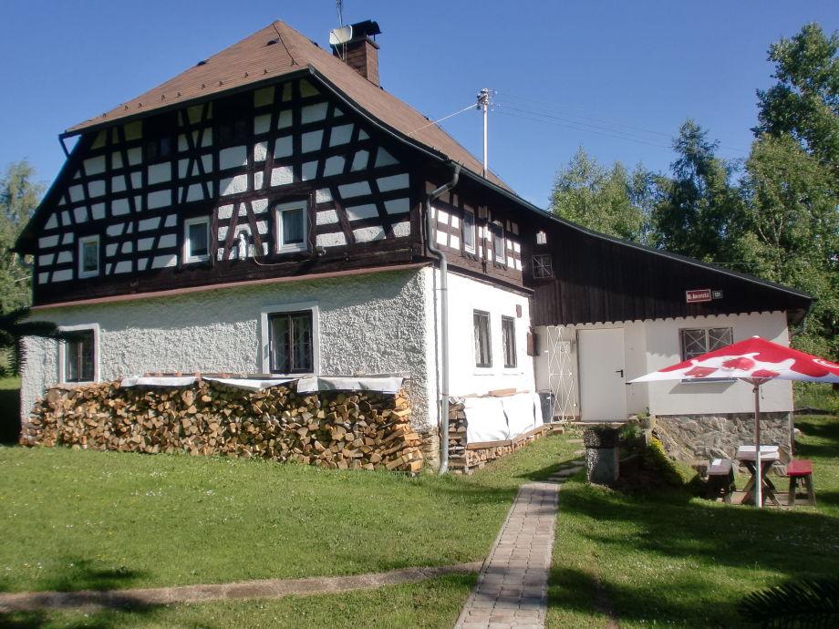 Außenaufnahme Ferienhaus Anna