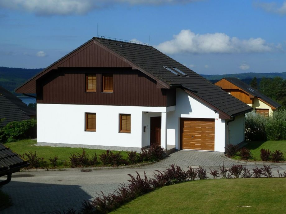 Außenaufnahme Villa Lipno