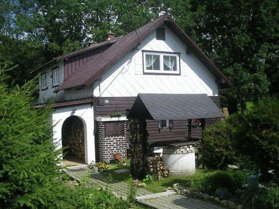 Außenaufnahme Haus Pavkova