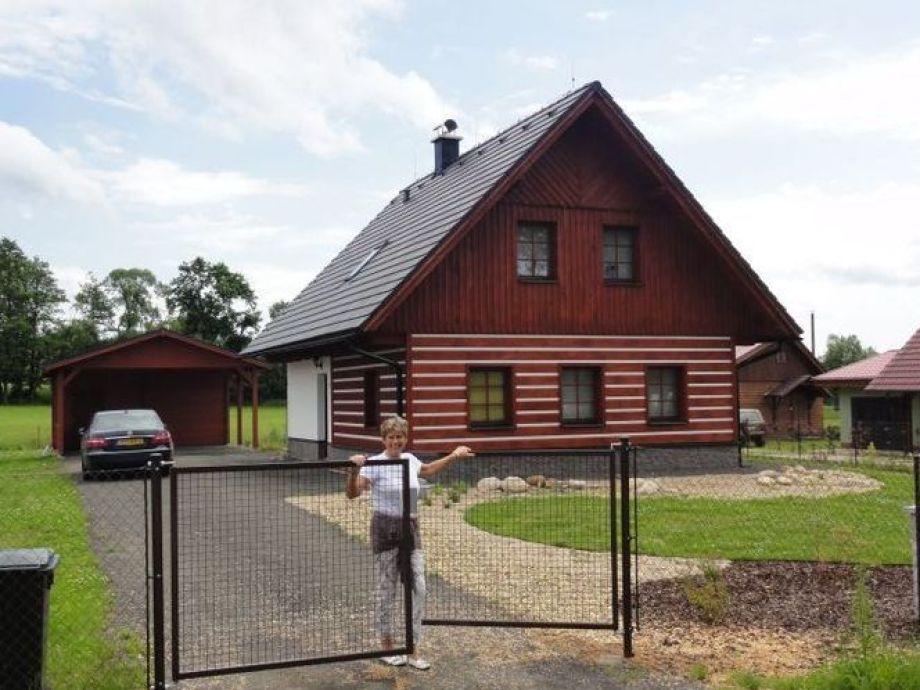 Außenaufnahme Jagers Lodge
