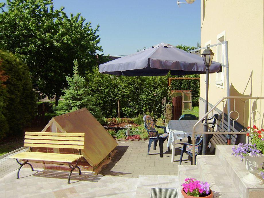 Außenaufnahme Ferienwohnung Sächsische Schweiz